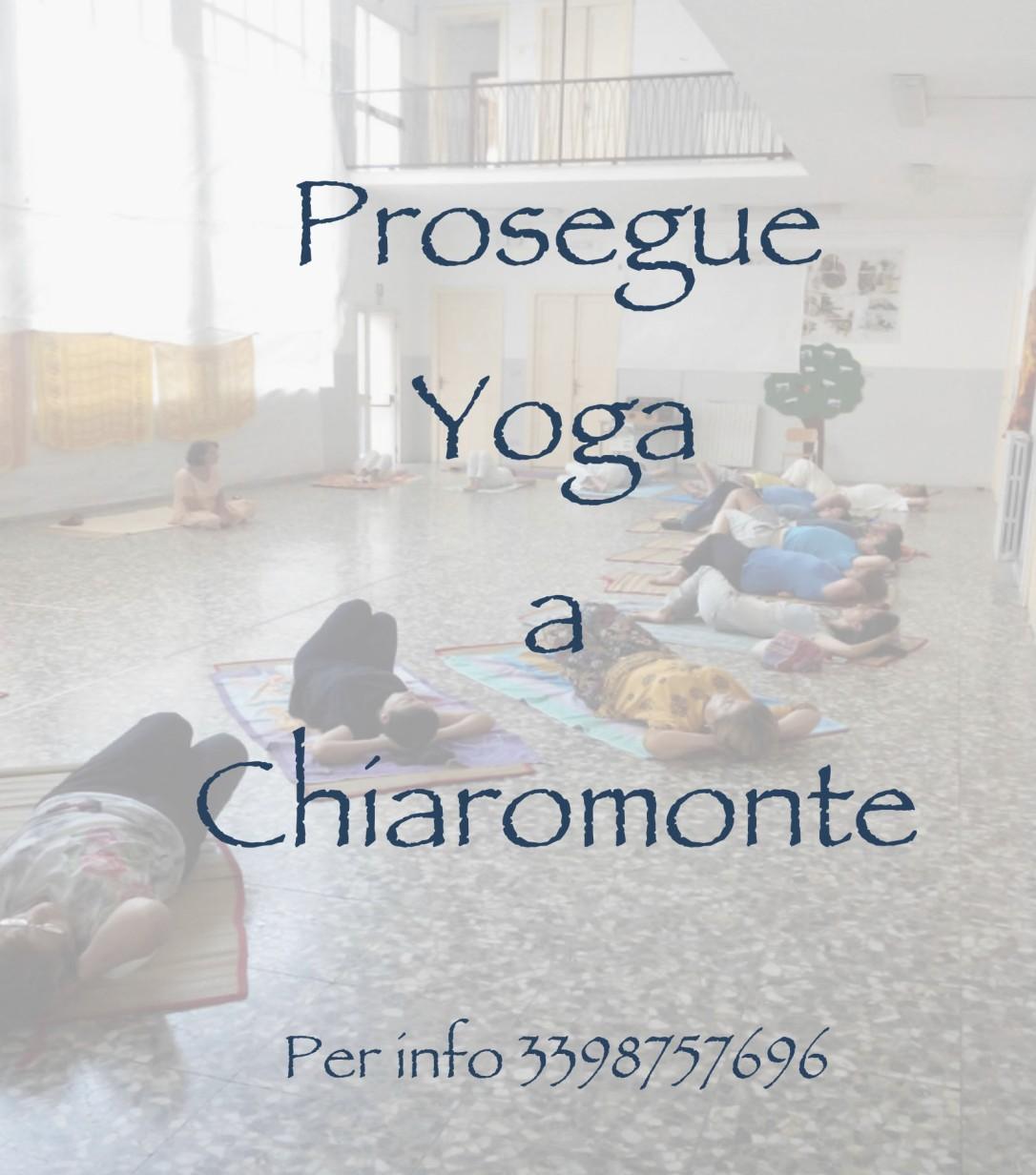 Prosegue lo Yoga a Chiaromonte