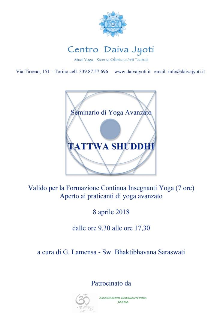 Microsoft Word - SEMINARIO TATTWA SHUDDHI 8 APRILE 2018 presenta
